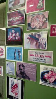 Bacon decorations. - Photo courtesy of Alicia Plomin