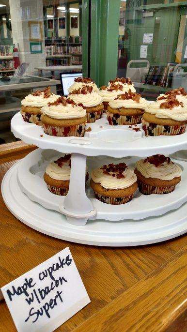 Maple Cupcakes with Bacon. - Photo courtesy of Alicia Plomin