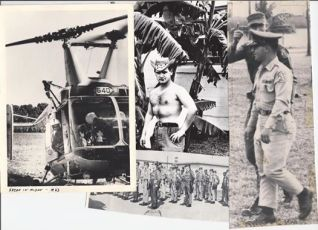Pictures of Charles Cairo in Vietnam. | Courtesy Tom Holmes