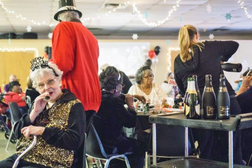 The Howard Mohr Community Center was hopping New Year's Eve afternoon as celebrants got an early start on the end-of-year festivities. | Photo by Jason Schumer