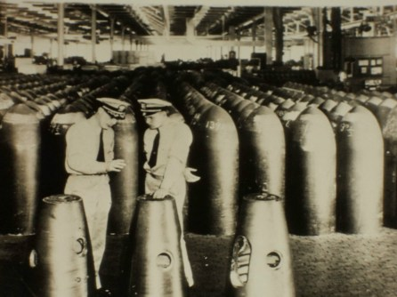 Torpedos were the inventory at the Amertorp munitions plant in Forest Park during World War II. | File photo