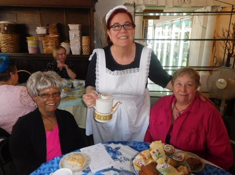 (Left to right) Lela Grimble with Deanna Alexander and Nelly Krems. | JACKIE SCHULZ/Contributor