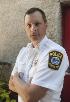 Tom Aftanas Forest Park Police Chief
