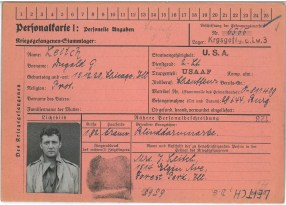 Leitch's camp ID from Stalag Luft 3.   Courtesy of Tom Leitch