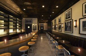 Jef Anderson designed the new Kinslahger tasting room to look like a 1920's speakeasy. | Provided by Jef Anderson