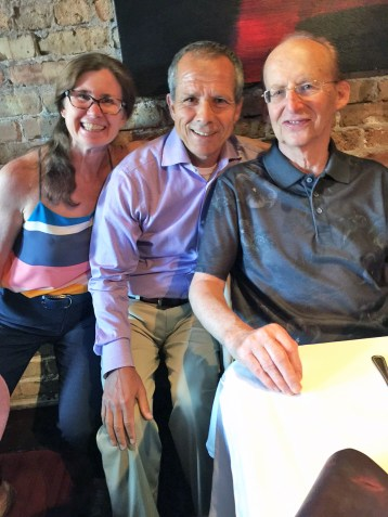 Margi and Anan Abu-Taleb with Jay Friedman. | Courtesy Gail Friedman