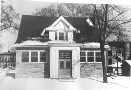 The former Haase house. | Courtesy of Forest Park Public Library
