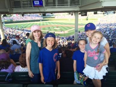 Geri Grant, Jack, Ava, Ana, and Stella Zach.   Courtesy Roger Grant