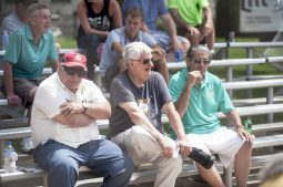 Fans watch the action from the stands. | William Camargo/Staff Photographer
