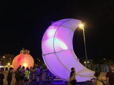 "Samantha Rausch's ""Celestial Light"" was a hit at Baltimore's Artscape festival.   Courtesy Samantha Rausch"