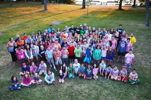 Kids at Camp Oasis.   Courtesy Marie Moroney