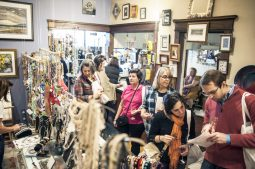 A group of wine lovers at a local shop. | William Camargo/Staff Photographer