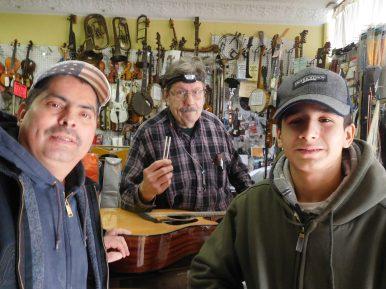 Juan Sanchez, Duane Smeltekopf and Daniel Sanchez. | JACKIE SCHULZ/Contributor