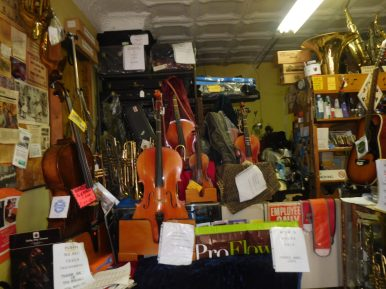 An array of musical instruments at Smeltekopf's. | JACKIE SCHULZ/Contributor