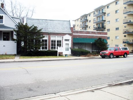 316 Circle, the site of the Forest Park Post Office in 1927.   Courtesy John RIce