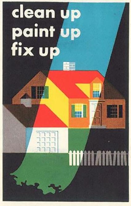 Fix 'er up, clean 'er up