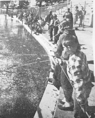 Trout Fishing at the Park   Photo courtesy Forest Park Historical Society