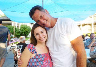 Sarah and Chuck Alvarado. JACKIE SCHULTZ/Contributor