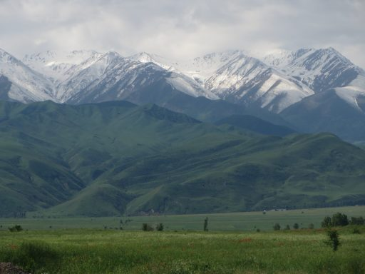 The mountains in Chui region. | Courtesy Leah Cozzi