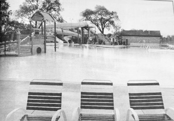 Forest Park Aquatic Center pool. | Photo courtesy Forest Park Historical Society