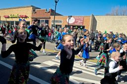 Participants march down Madison Street in downtown Forest Park. | Alexa Rogals/Staff Photographer
