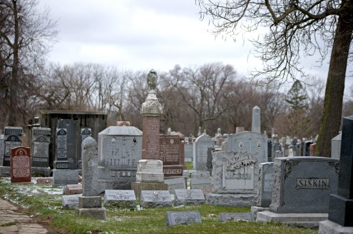Jewish Waldheim Cemetery would be nothing without Irwin Lapping.   Alexa Rogals/Staff Photographer
