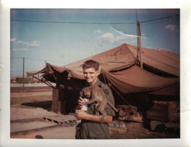 Vietnam vet Cliff Leber, of Forest Park, has added his voice to audio histories Nancy Cavaretta is collecting.   Submitted photo