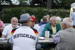 Some attendees of Forest Park's German Fest wore attire to represent Germany.   Sarah Minor/Contributor
