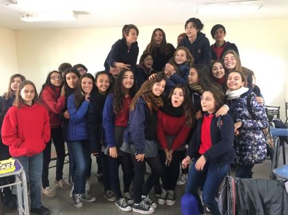 Ernesto Gasse with his classmates.   Submitted photo