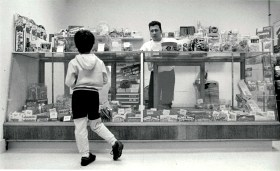 Back Door Candy store at 1000 Beloit in 1994. Photo By Frank Pinc