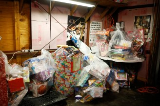 Bags of toys were collected for numerous charities Saturday, Dec. 1 as part of Christmas with a Cause at McGaffer's Saloon. (Sarah Minor/Contributor)