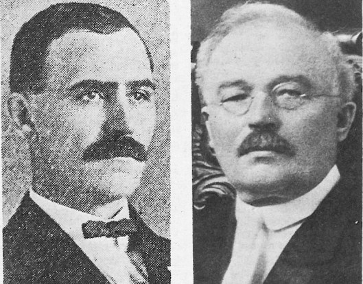 Mayor Henry J. Mohr was Forest Park's first Mayor. Henrich Kaul was the second mayor of Forest Park.