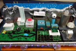 FPMS students designed a model city. | Submitted photo