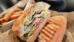 Diners have eight paninis to choose from at Massa Cafe Italiano. The Primo (pictured) features grilled chicken, swiss cheese, bacon, tomato and romaine lettuce.