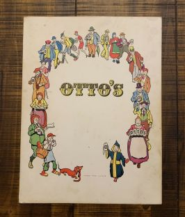 1960's menu from Otto's