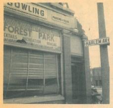 "Corner of Harlem and Harrison forever changed after Vogel's said ""good bye."""