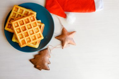Waffles with Santa | Dec. 14 from 8 a.m. to 12 p.m. at The Brown Cow, 7347 Madison St. Santa loves waffles for breakfast and wants to share them with you.
