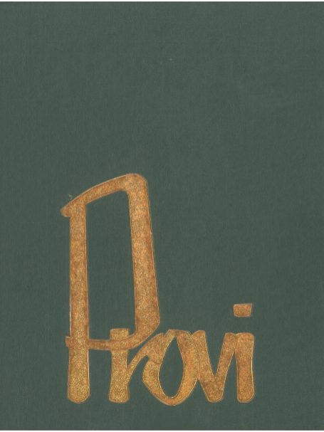 The cover of the 1964 Provi, the Proviso East Yearbook.