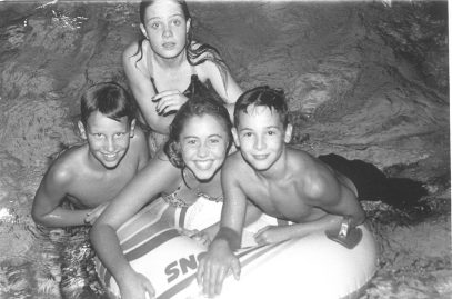 More Forest Park kids enjoying the Friday night at the pool in 1993.
