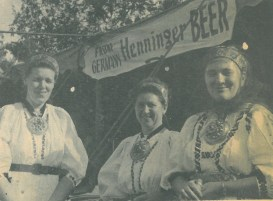 The 1974 Forest Park Review featured this beer tent at the annual Oktoberfest.