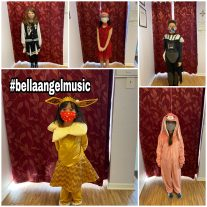 Students of Bella Angel Music have fun while taking instrument and voice lessons. | Photo provided