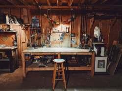 Joshua Longbrake's workshop in Forest Park. | Photo provided