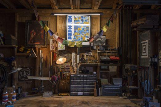 Joshua Longbrake's workshop in Forest Park. | Alex Rogals, Staff Photographer