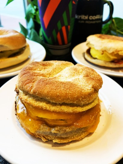 Grab coffee and a sandwich at Kribi Coffee. Lourdes Nicholls.