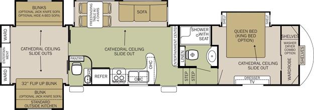 2 Bedroom Motorhome Floor Plans   www.redglobalmx.org