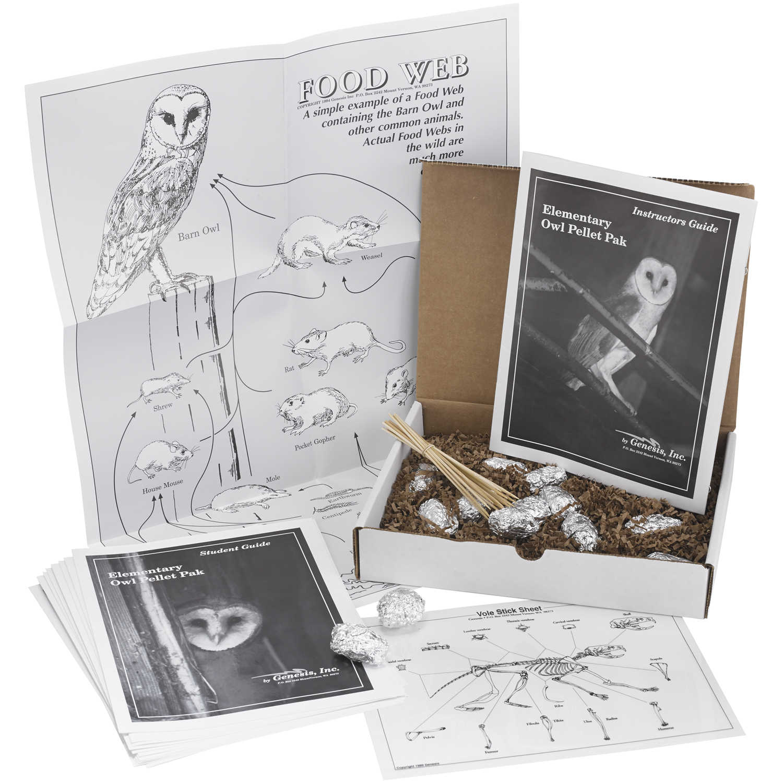 Owl Pellet Study Kit