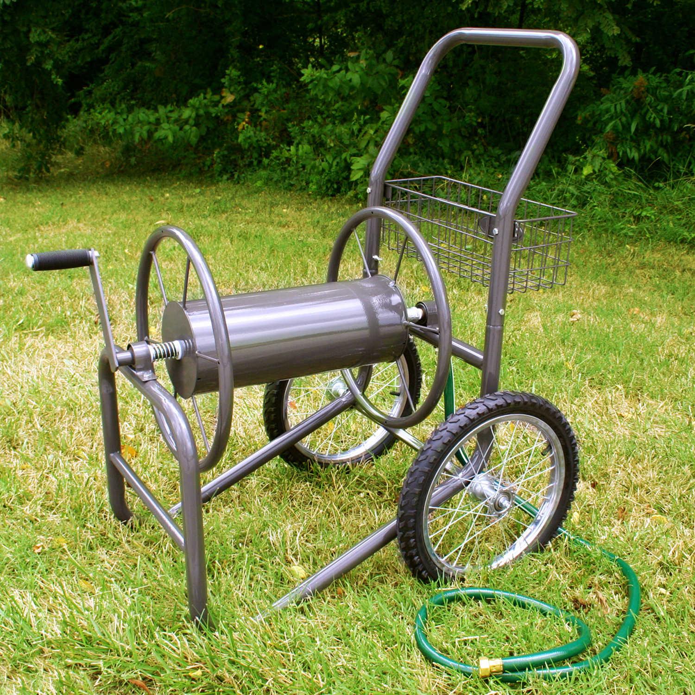 Liberty Garden Industrial Twowheel Hose Reel Cart Forestry Suppliers Inc