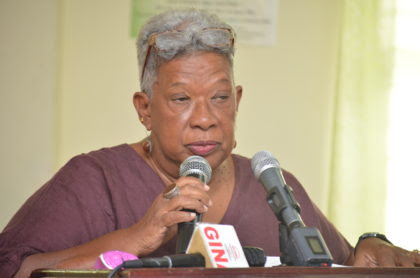 Chairman of the board of the Guyana Forestry Commission, Jocelyn Dow