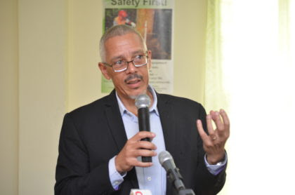 Minister of Business Dominic Gaskin