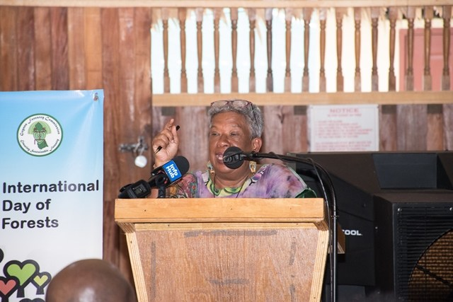 Chairperson, Board of Directors, Guyana Forestry Commission, Jocelyn Dow.